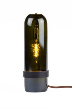 The Bottle Lamp Grün