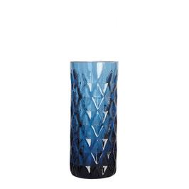 Cut Vase Blue