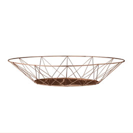 Copper finish Basket