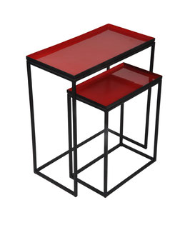 Nested tables red