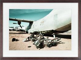 Wasteland pregnant B52 / plane
