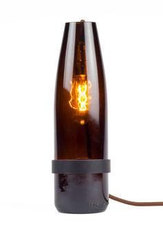 The Bottle Lamp Braun