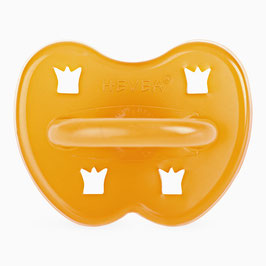 Hevea - Round Pacifier Crown / Runder Nuggi Natural Krone