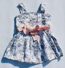 Gingersnaps: Pleated Strapy Dress with Bow Sash