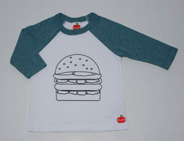 D'n.a.d.A Burger Tee for Girls & Boys // Unser Hamburger T-shirt für Mädels & Jungs