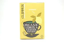 クリッパー紅茶(レモン&ジンジャーティー)20P