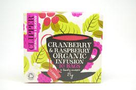 クリッパー紅茶(クランベリー&ラズベリー)10バッグ