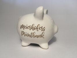 Personalisiertes Sparschwein