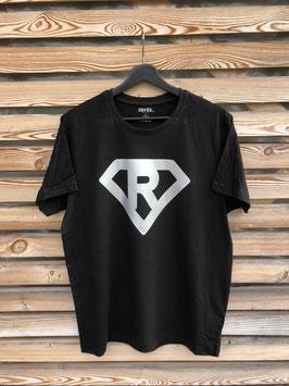 """T-Shirt unisex, schwarz, """"Superman"""""""