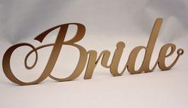 """Stuhlschilder Brautpaar """"Bride"""" & """"Groom"""" romantisch"""