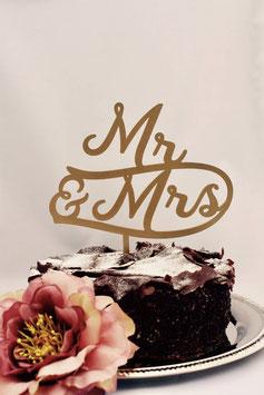 """Tortenstecker """"Mr & Mrs"""""""