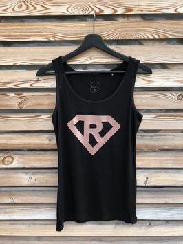 "Tanktop schwarz, ""Superwoman"""