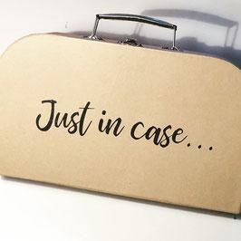 Koffer natur, geeignet als Notfallkoffer oder Geschenkbox