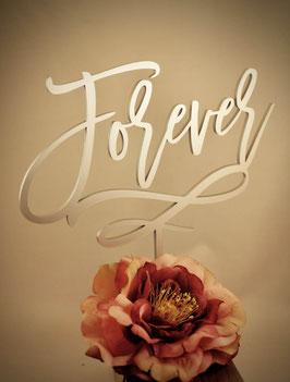 """Tortenstecker """"Forever"""""""