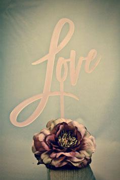 """Tortenstecker """"Love"""""""