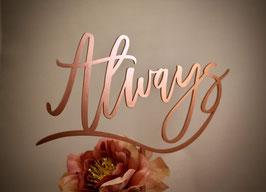"""Tortenstecker """"Always"""""""