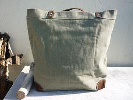 Große Einkaufstasche in grün