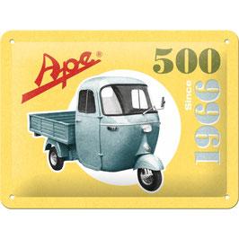"""""""Ape 500 since 1966"""""""