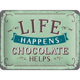 """CHOCOLATE HELPS"""