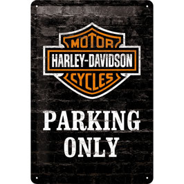"""HARLEY PARKING"""