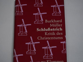 Burkhard Müller - Schlußstrich