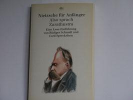 Nietzsche für Anfänger - Also sprach Zahatrusta