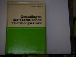 Norbert Elsner - Grundlagen der Technischen Thermodynamik