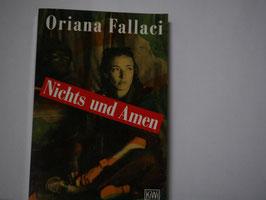 Oriana Fallaci - Nichts und Amen