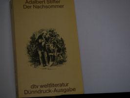 Adalbert Stifter - Der Nachtsommer