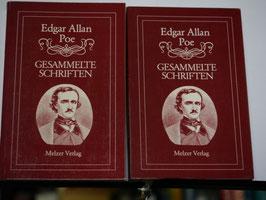 Edgar Allan Poe - Gesammelte Schriften Band 4 + 5
