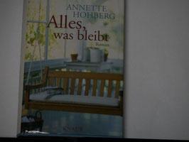 Annette Hohberg - Alles, was bleibt
