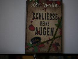 John Verdon -Schliesse deine Augen