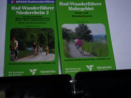 2 Radwanderführer von Kompass
