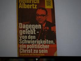 Heinrich Albertz - Dagegen gelebt