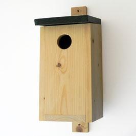 HOUT vogelhuis spreeuw