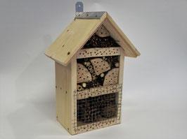 Insectenhotel met strip