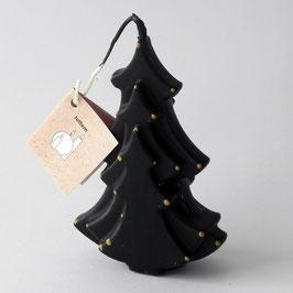 KERST Kerstboomkaars, zwart