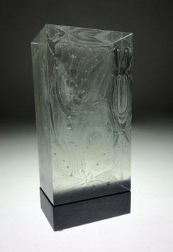 Glasskulptur von Willi Pistor