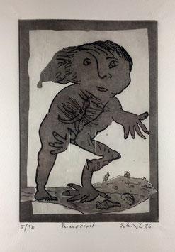 """""""Innocent"""" - Glasdruck von Erwin Eisch"""