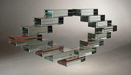 Glasplastik von Willi Pistor