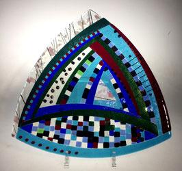 Große Dreiecksschale von Michael Günther