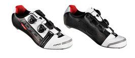 Schuhe CAVALIER CARBON, schwarz-weiß-rot