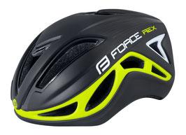 Helm REX, schwarz-fluo