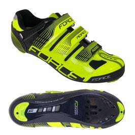 Schuhe ROAD, Fluo-Schwarz