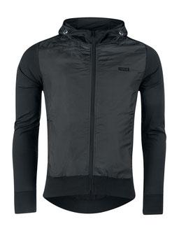 Jacke/Sweatshirt F ELEGANT mit Reißverschluss schwarz
