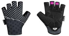 Handschuhe F POINTS Damen, schwarz-grau