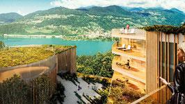 Appartamenti di lusso nella nuova residenza High Line, Montagnola, Collina d'Oro, Svizzera