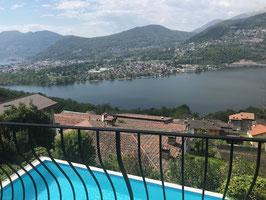 Villa con vista bellissima lago   Montagnola, Collina d'Oro