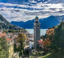 Vendesi una proprietà esclusiva a Lugano.  terreno
