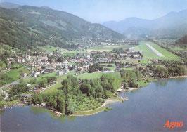 4 Zimmer Reihenfamilienhaus; casa nel nucleo da ristrutturare a Agno, Ticino Svizzera